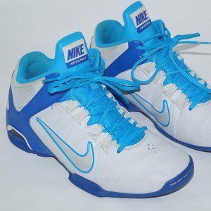 Nike Men Air VISI Pro 4 Blue/White basketball Ss 9
